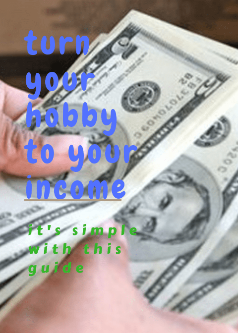 turn your hobby to your income