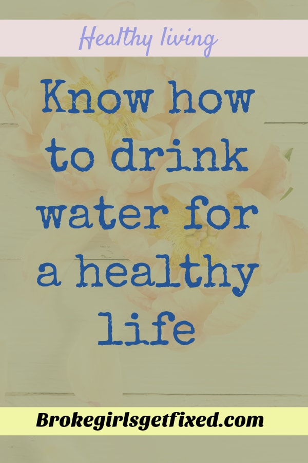 Know the right way to drink water for a healthy skin and even for weight loss