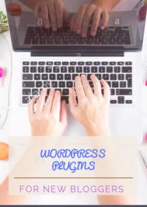 WordPress plugins for new bloggers