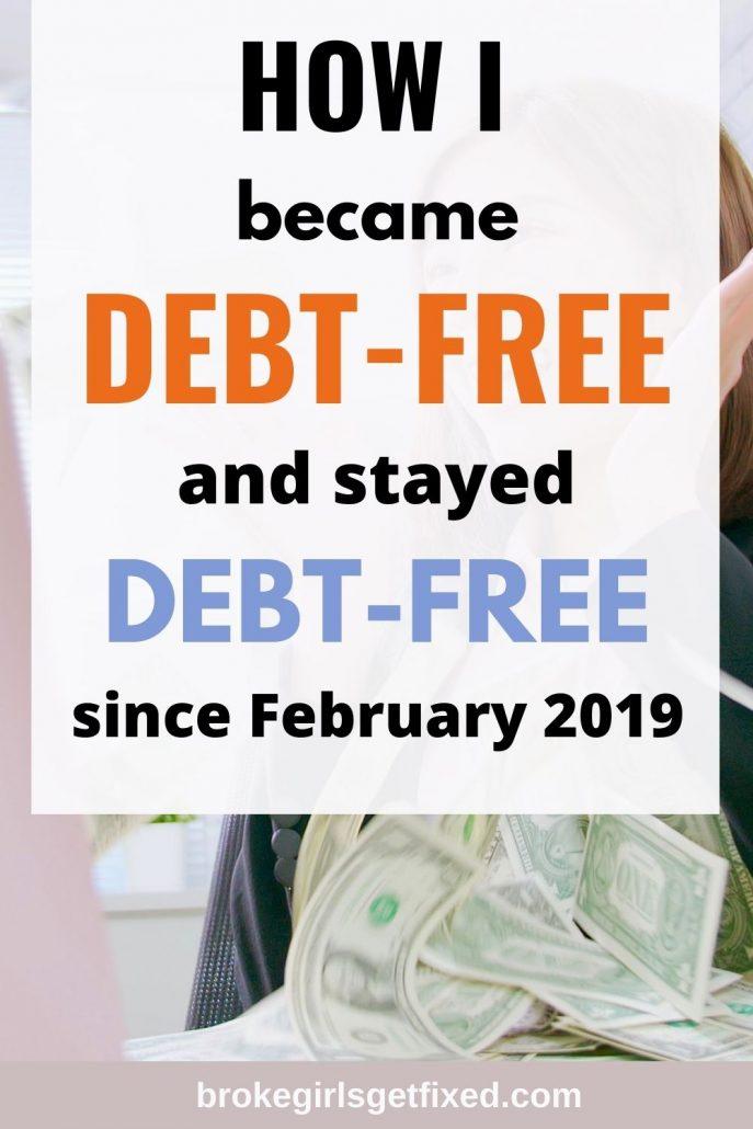 how I became debt-free