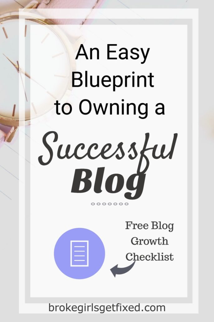 An easy blueprint to owning a successful blog