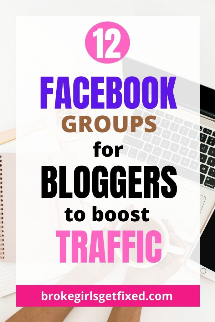 12 groups on Facebook for bloggers
