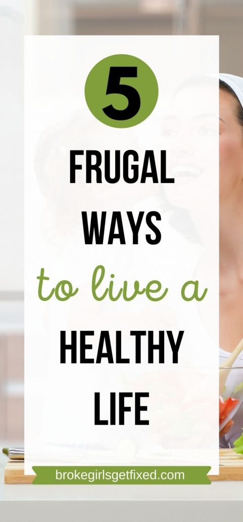 cheap ways to live  healthily