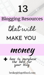 blogging resources that will make you money
