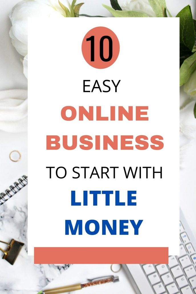 easiest online business to start