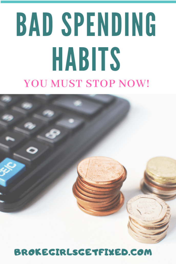 bad spending habits you need to stop