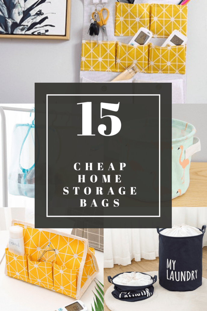 cheap storage baskets and bags