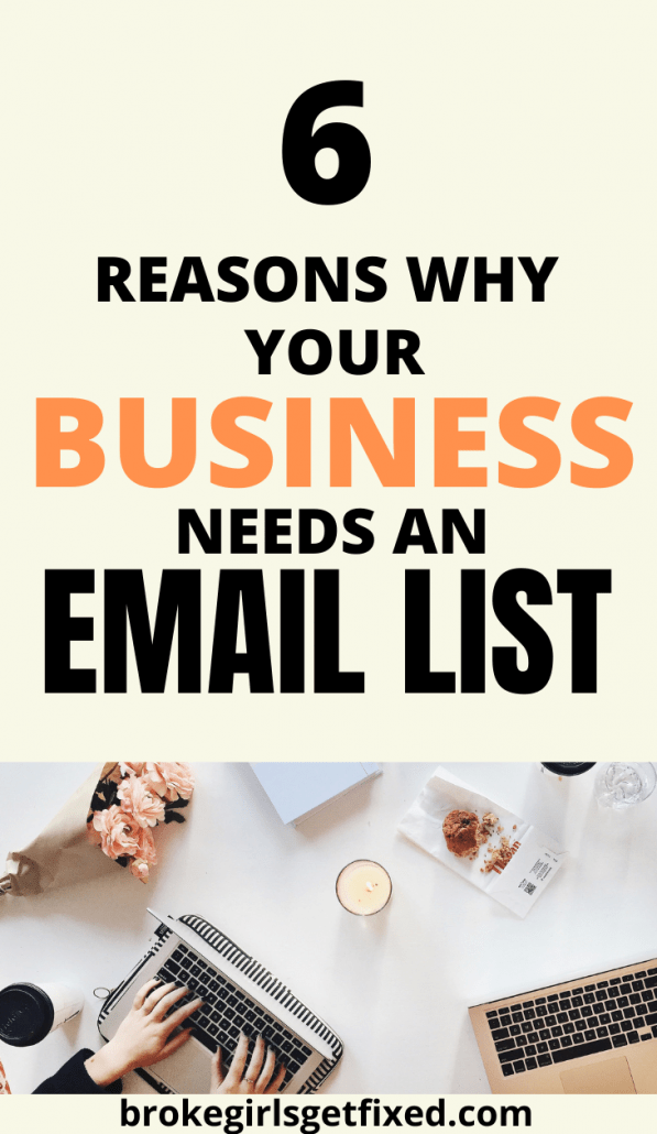 reasons why your business needs an email list