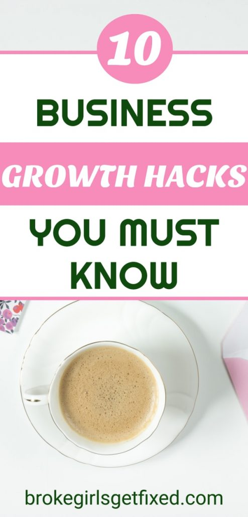 10 important business growth hacks you must know now