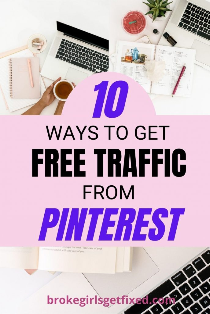 Pinterest pin: how to get free traffic from Pinterest