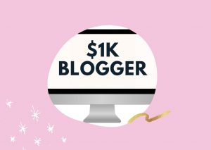 The $1k Blogger changed my blogging story