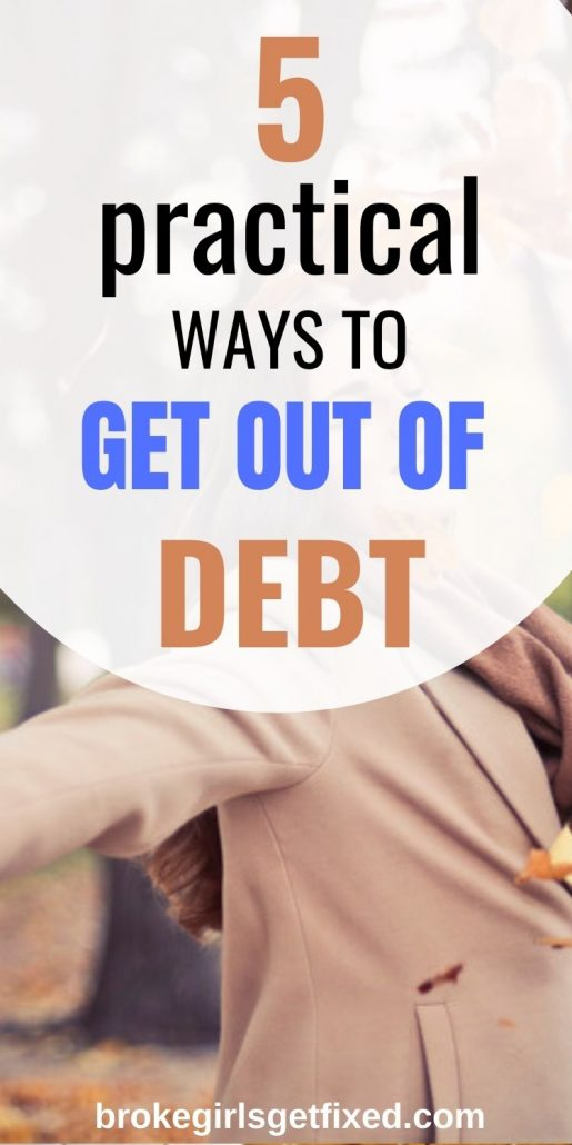 How to get out of debt fast