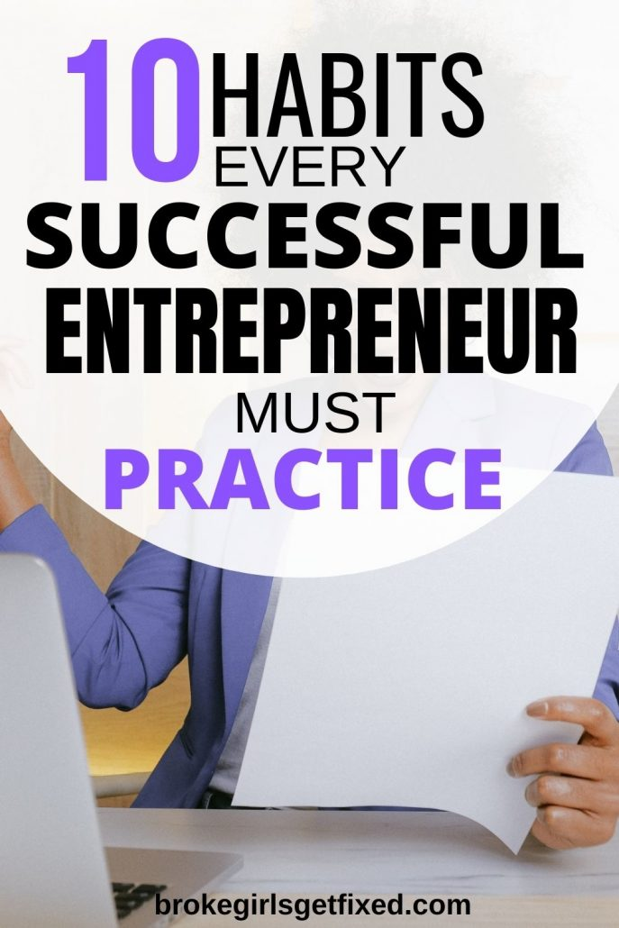 habits of successful business owners