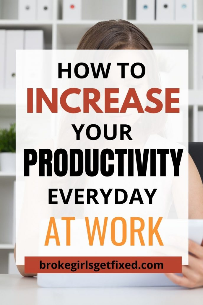 increase productivity at work