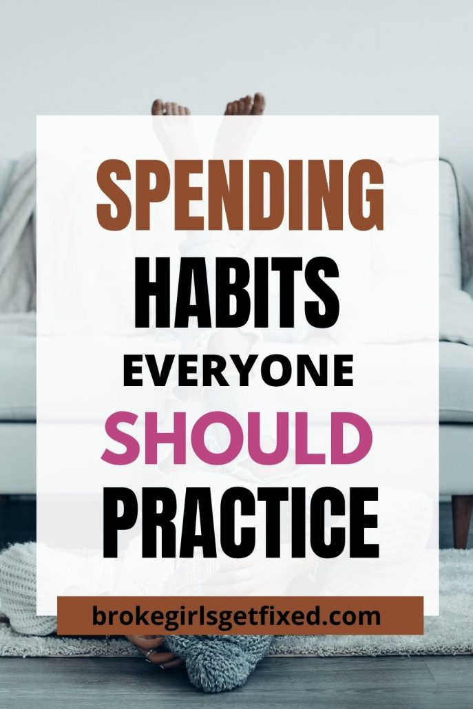 good spending habits to practice