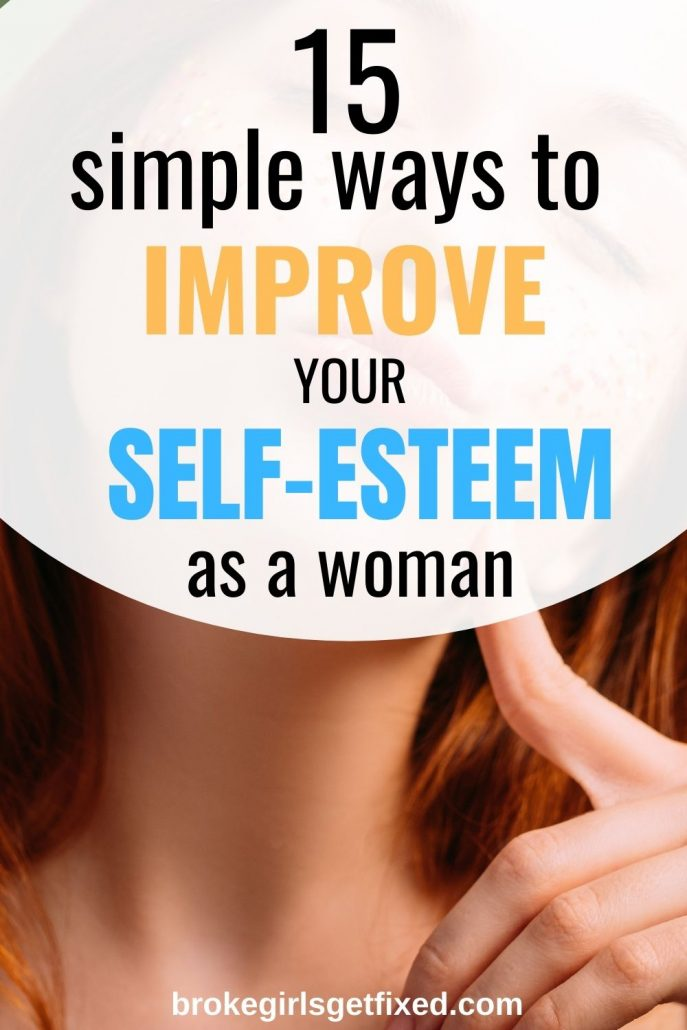 ways to improve your self-esteem as a woman