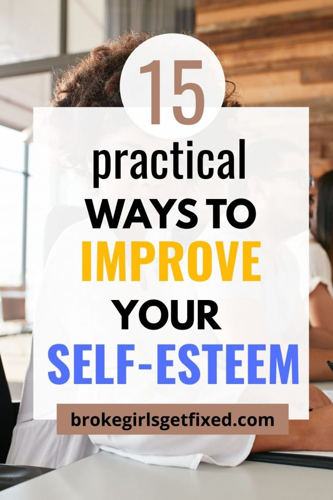 ways to improve your self esteem as a woman