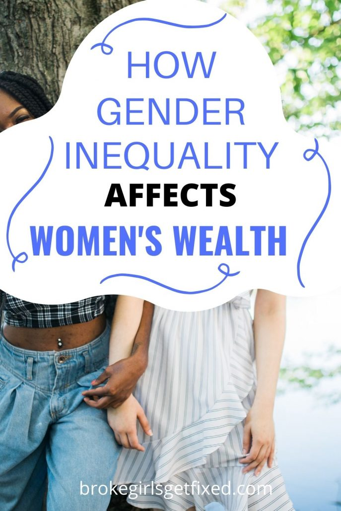 how gender inequality affects women's wealth
