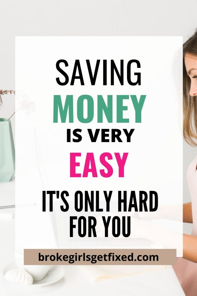 why saving money is hard for you