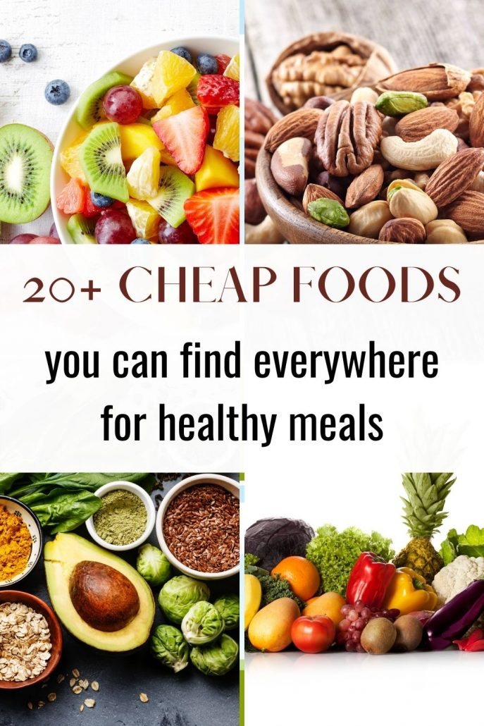 cheap food found everywhere