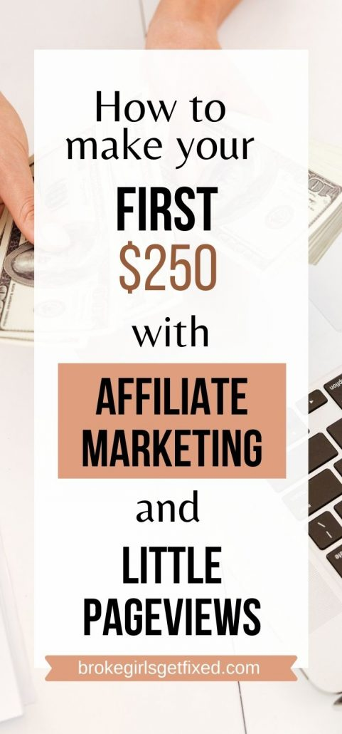 how to make your fist money blogging with affiliate marketing