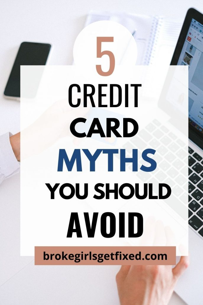 credit credit card myths you should not be believing