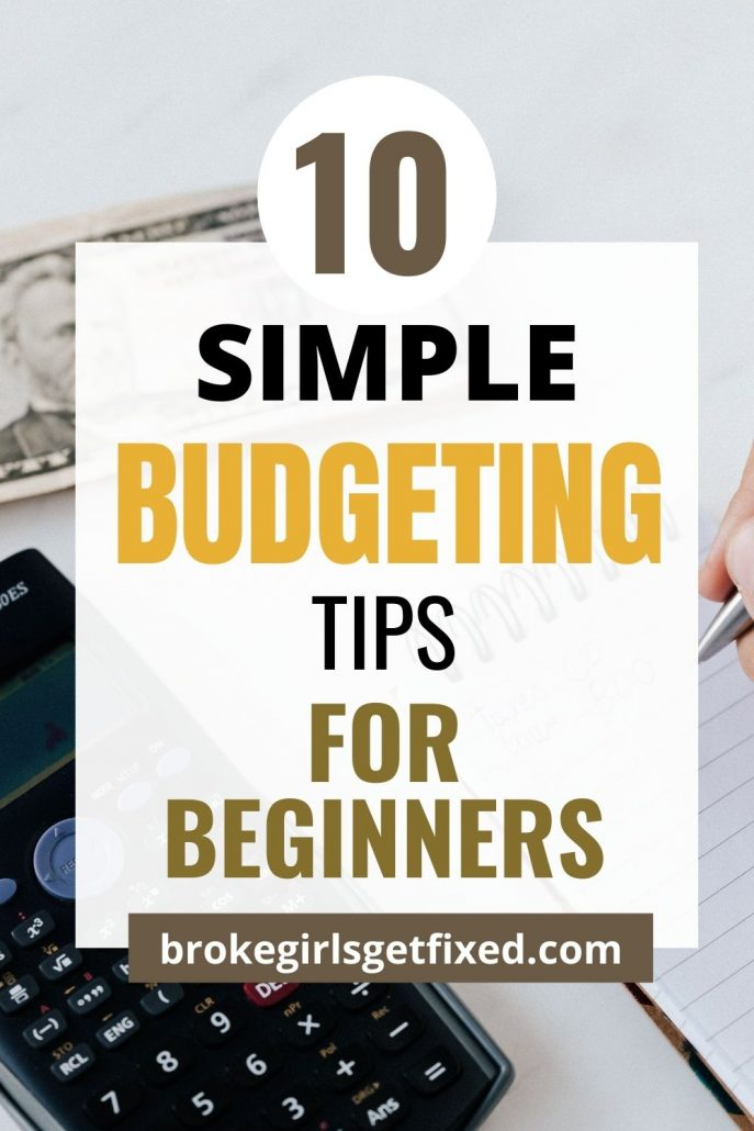 budgeting tips for beginners