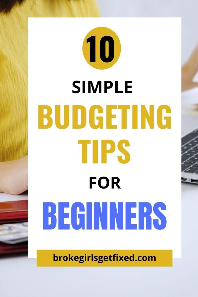 simple budgeting tips for beginners