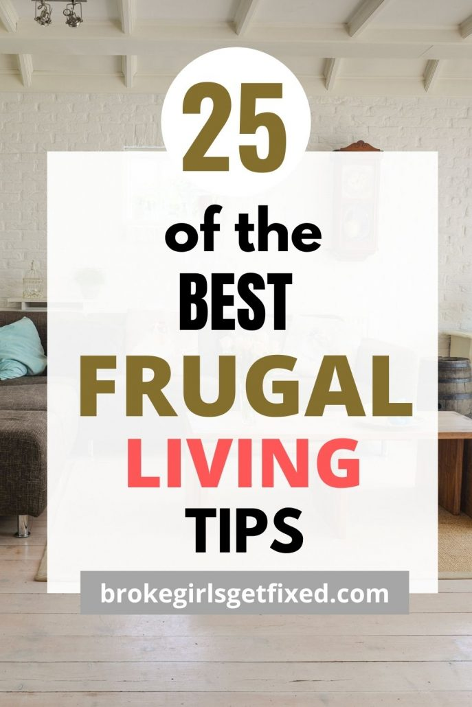 25 best frugal living tips for beginners