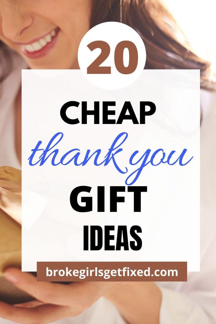 inexpensive thank you gifts