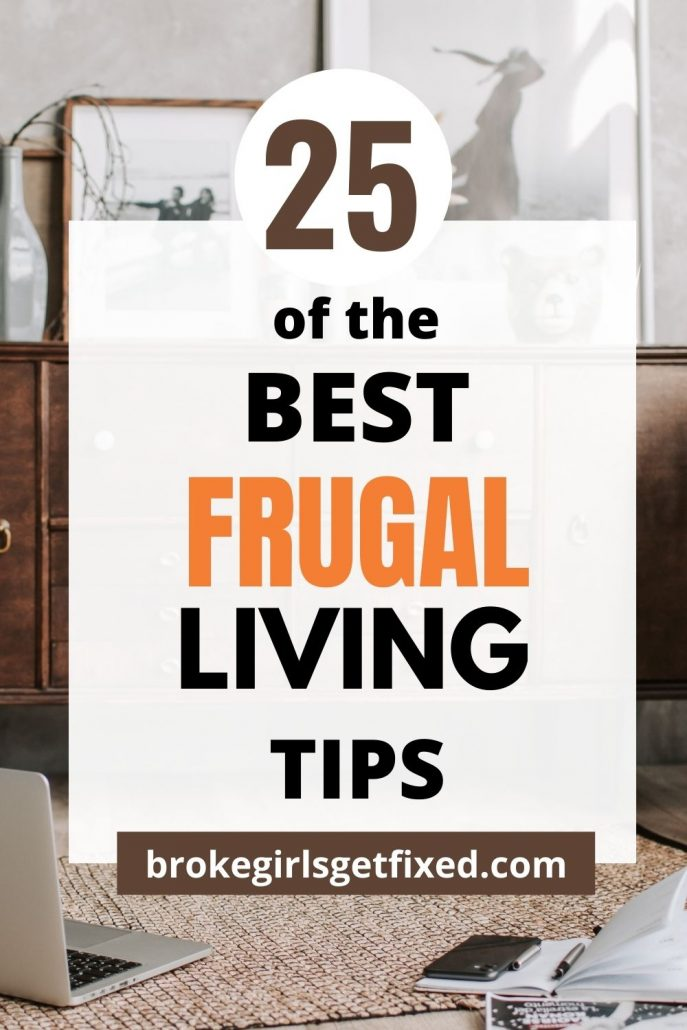 frugal living tips for beginners